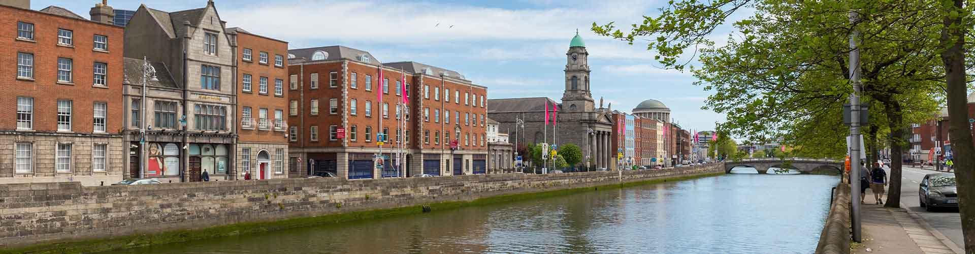 Dublín - Habitaciones cerca a City Center. Mapas de Dublín, Fotos y comentarios de cada Habitación en Dublín.