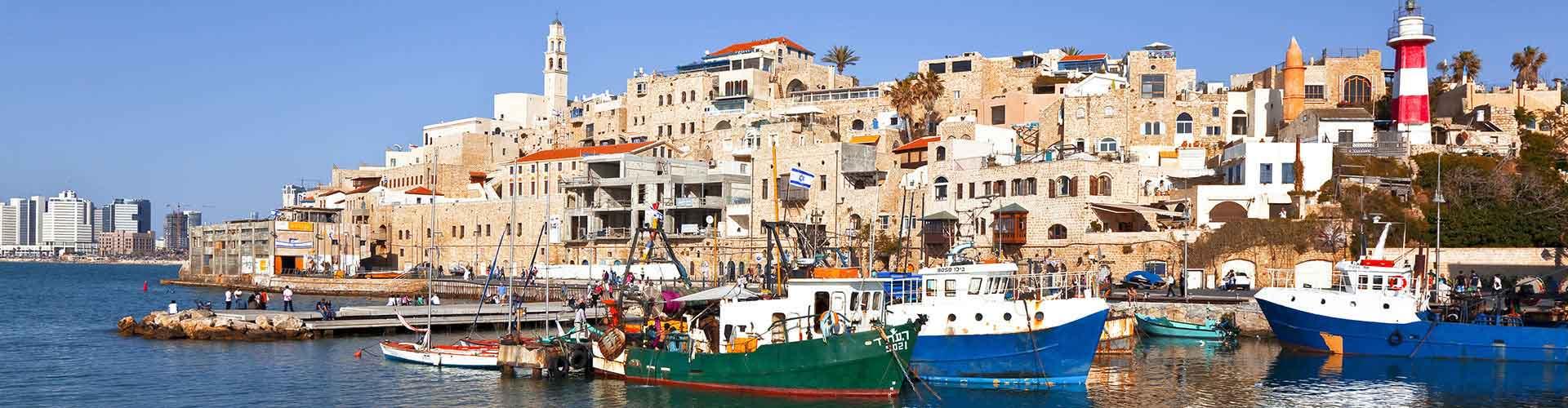 Tel Aviv - Hoteles baratos en el distrito Shabazi. Mapas de Tel Aviv, Fotos y comentarios de cada Hotel barato en Tel Aviv.