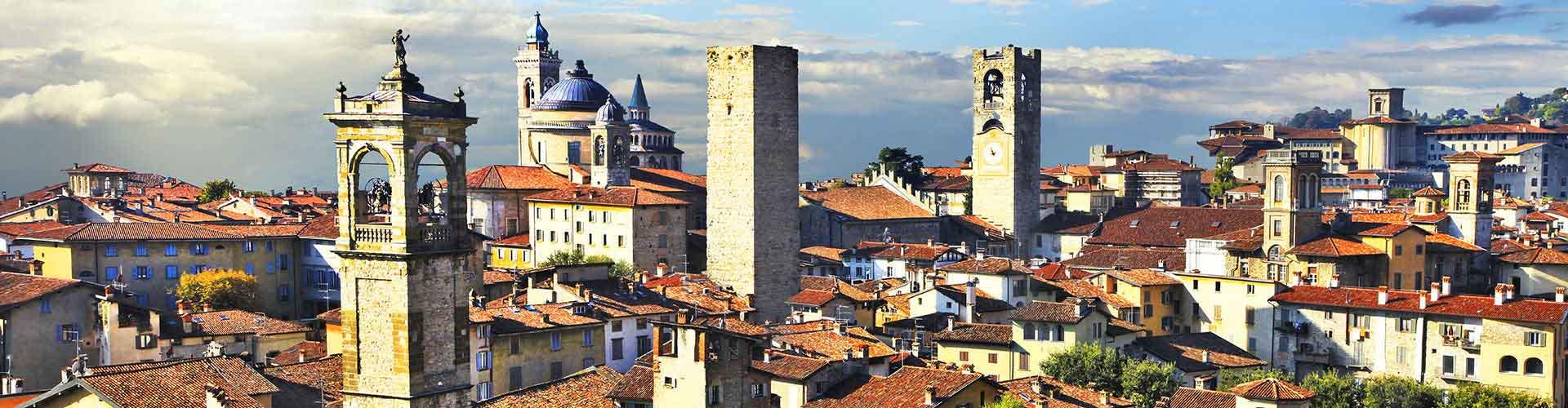 Bergamo - Hoteles baratos en Bergamo. Mapas de Bergamo, Fotos y comentarios de cada Hotel en Bergamo.