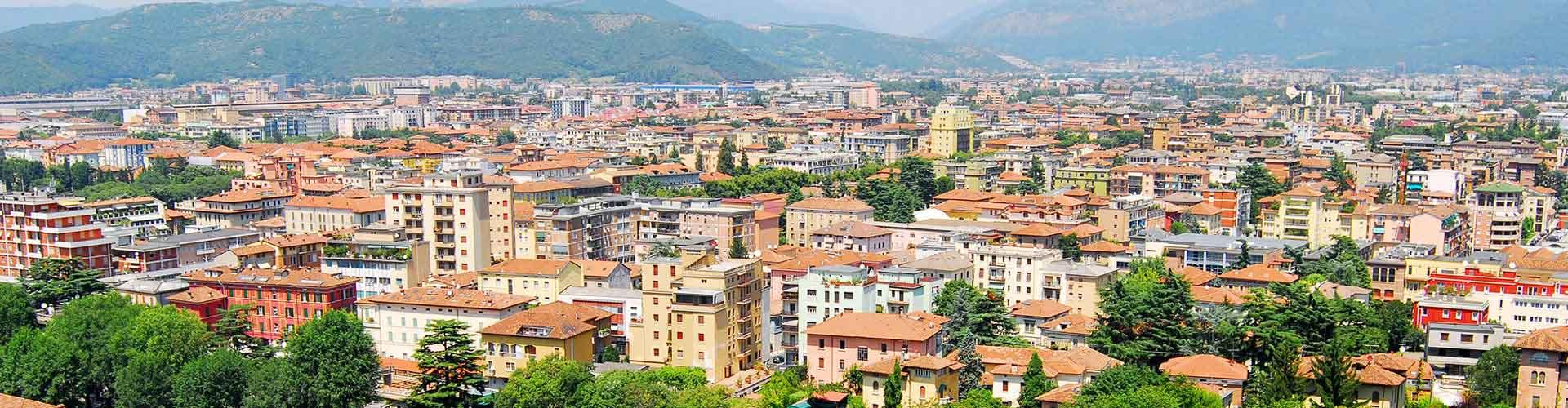 Brescia - Hostales en Brescia. Mapas de Brescia, Fotos y comentarios de cada Hostal en Brescia.