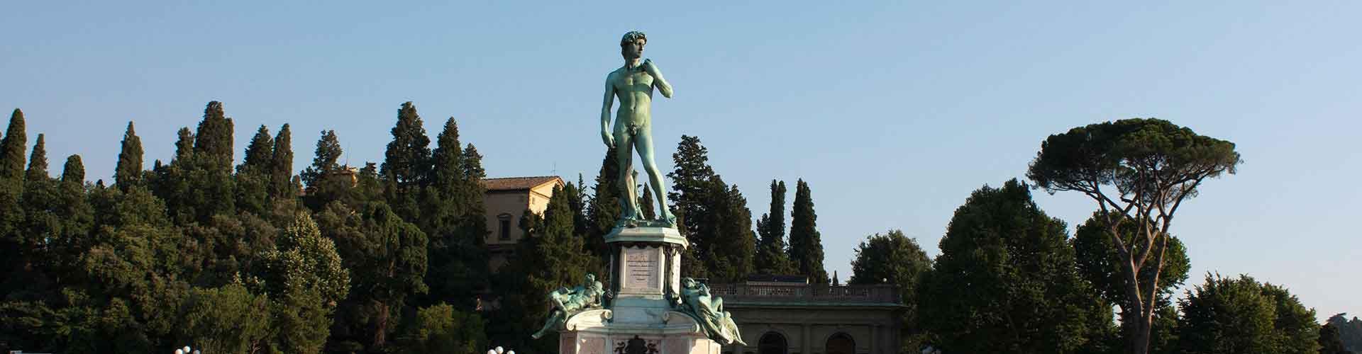 Florencia - Hostales en el distrito Piazzale Michelangelo. Mapas de Florencia, Fotos y comentarios de cada Hostal en Florencia.