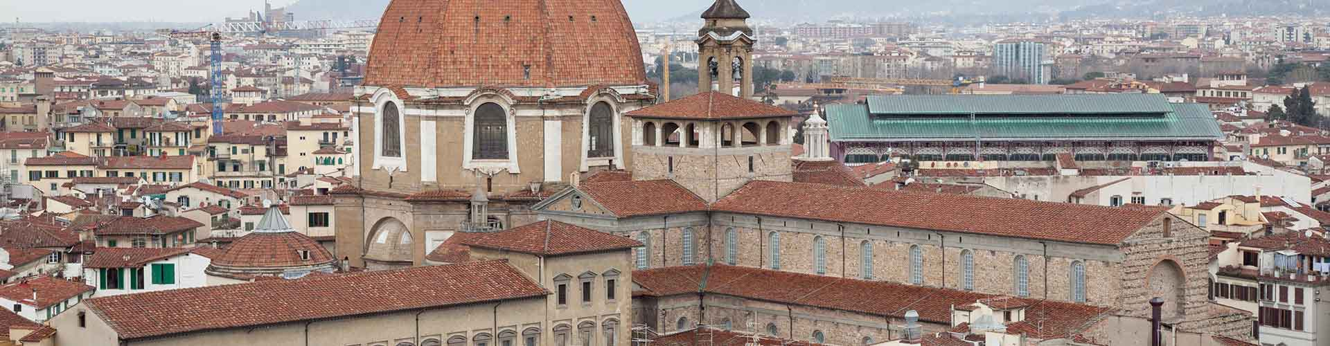 Florencia - Habitaciones en el distrito San Lorenzo. Mapas de Florencia, Fotos y comentarios de cada Habitación en Florencia.