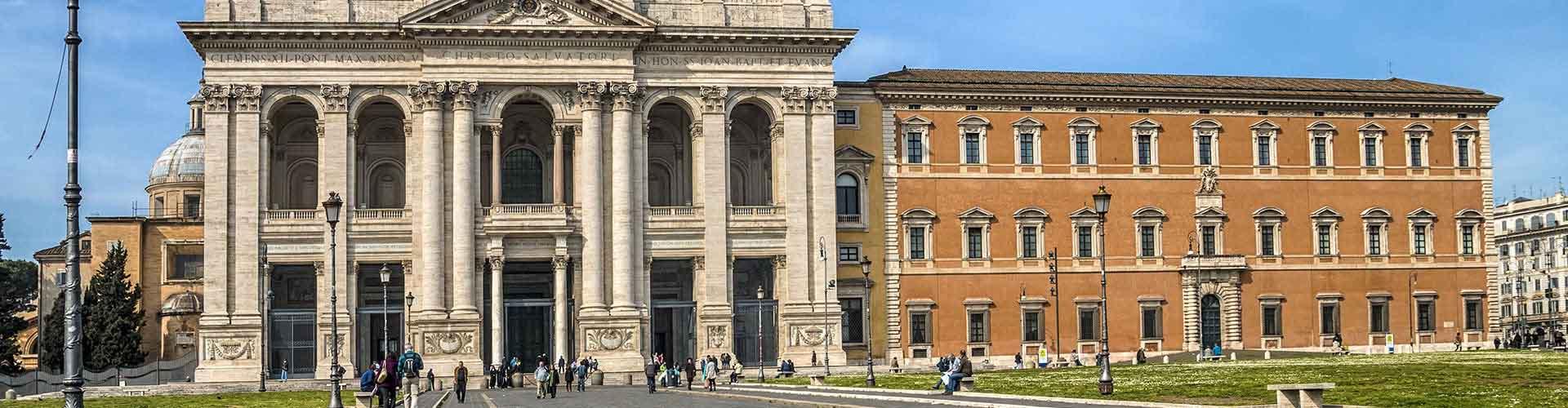 Roma - Habitaciones en el distrito San Giovanni. Mapas de Roma, Fotos y comentarios de cada Habitación en Roma.