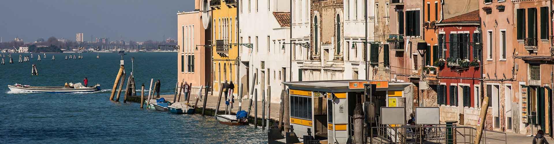 Venecia - Hostales en el distrito Sestiere Cannaregio. Mapas de Venecia, Fotos y comentarios de cada hostal en Venecia.