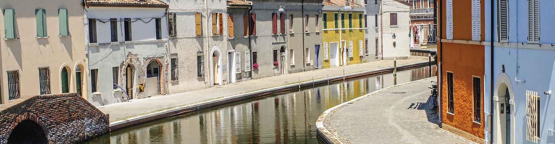 Ferrara - Campamentos en Ferrara. Mapas de Ferrara, Fotos y comentarios de cada Campamento en Ferrara.