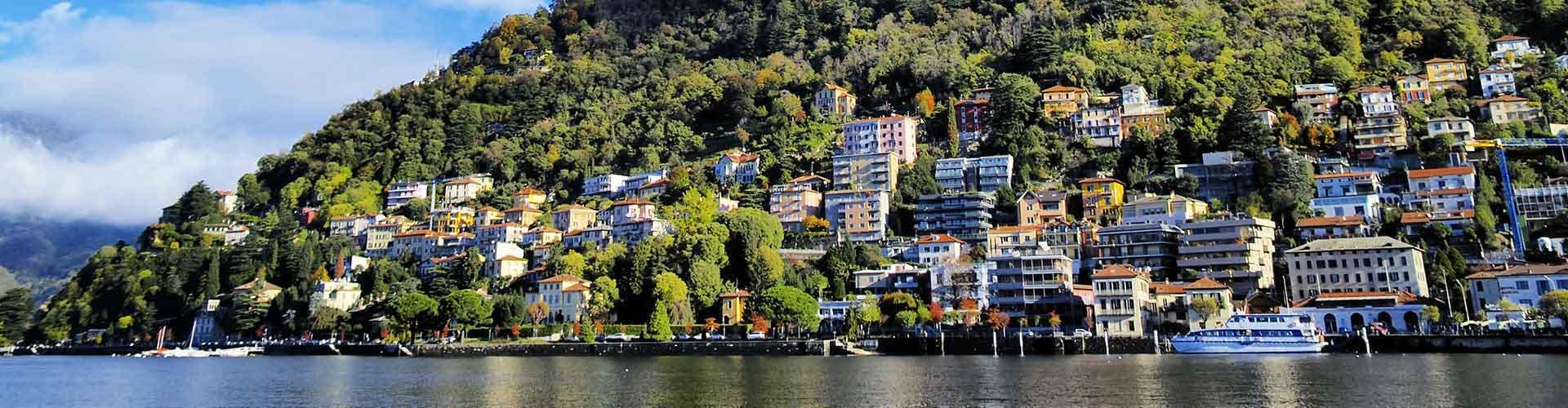 Lago de Como - Campamentos en Lago de Como. Mapas de Lago de Como, Fotos y comentarios de cada Campamento en Lago de Como.