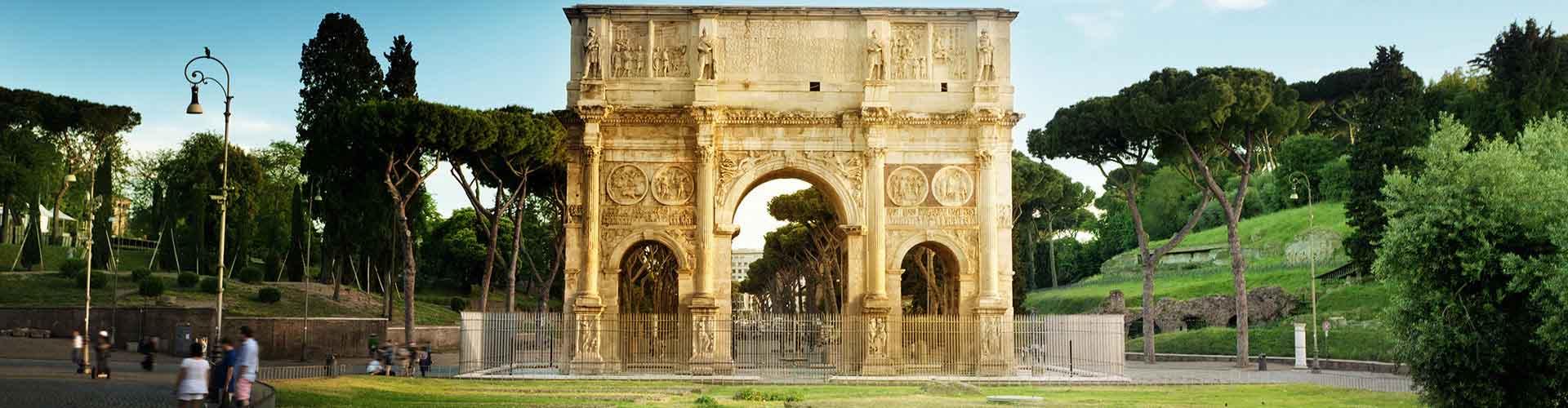 Roma - Hostales cerca a Arco de Constantino. Mapas de Roma, Fotos y comentarios de cada Hostal en Roma.