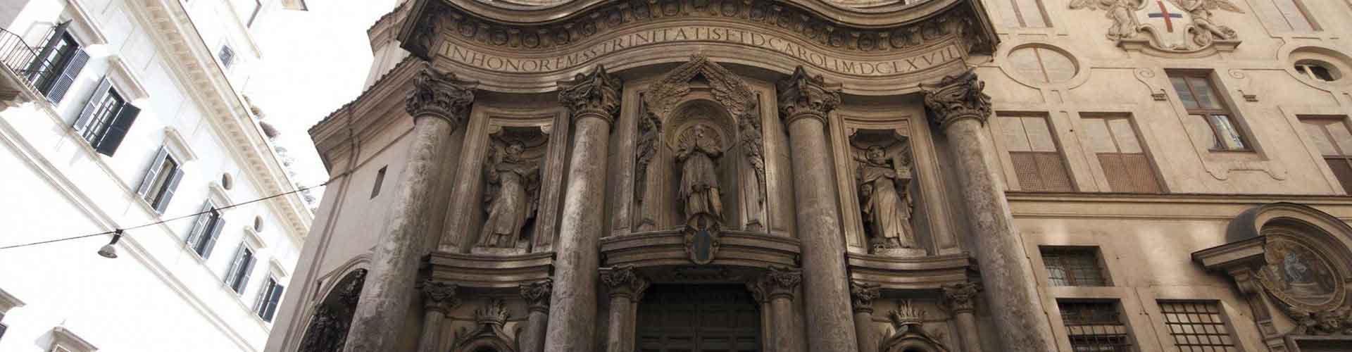 Roma - Hostales cerca a San Carlo alle Quattro Fontane. Mapas de Roma, Fotos y comentarios de cada Hostal en Roma.