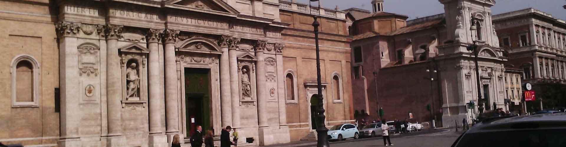 Roma - Hostales cerca a Santa Maria della Vittoria. Mapas de Roma, Fotos y comentarios de cada Hostal en Roma.