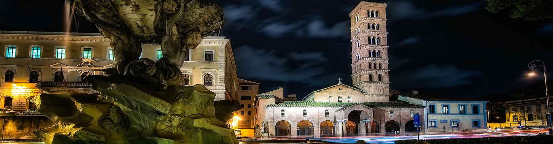 Roma - Hostales cerca a Santa Maria in Cosmedin. Mapas de Roma, Fotos y comentarios de cada Hostal en Roma.