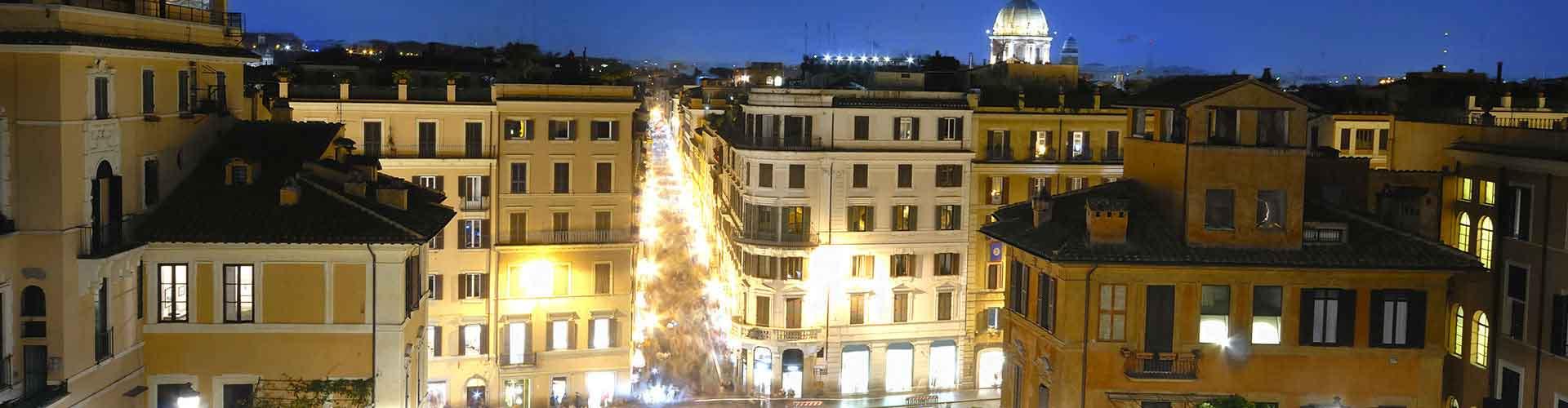 Roma - Hostales cerca a Via Condotti. Mapas de Roma, Fotos y comentarios de cada Hostal en Roma.
