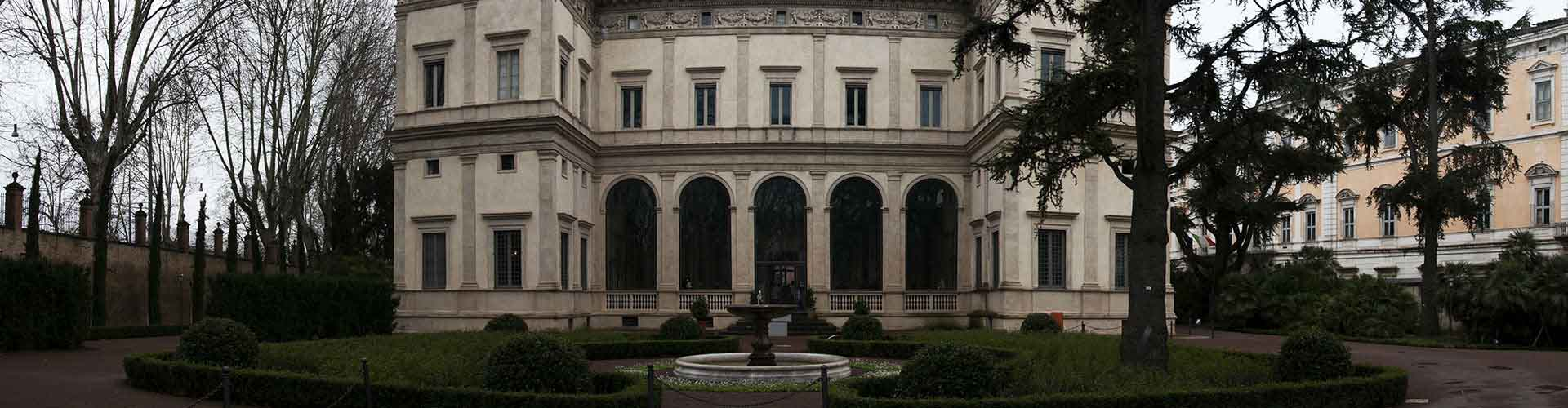 Roma - Hostales cerca a Villa Farnesina. Mapas de Roma, Fotos y comentarios de cada Hostal en Roma.