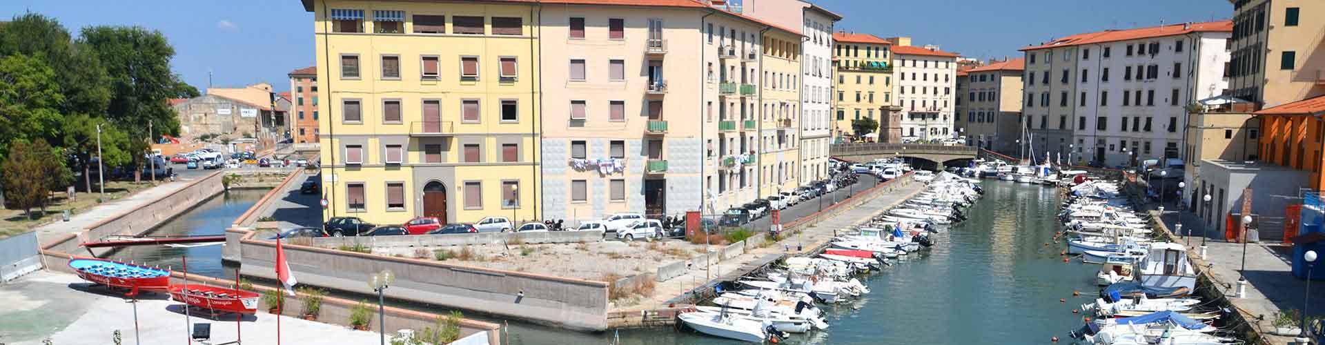 Livorno - Campamentos en Livorno. Mapas de Livorno, Fotos y comentarios de cada Campamento en Livorno.