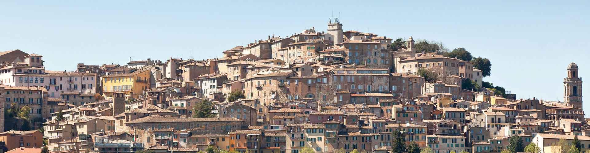 Perugia - Campamentos en Perugia. Mapas de Perugia, Fotos y comentarios de cada Campamento en Perugia.