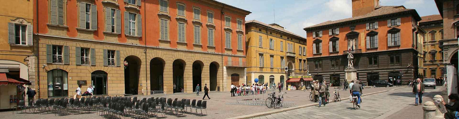 Reggio Emilia - Hostales en Reggio Emilia. Mapas de Reggio Emilia, Fotos y comentarios de cada Hostal en Reggio Emilia.
