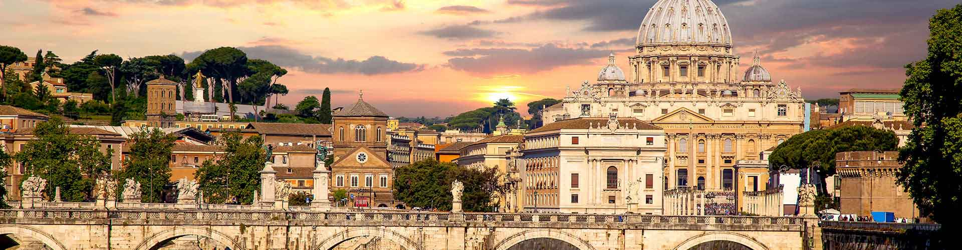 Roma - Hostales en el distrito Prati. Mapas de Roma, Fotos y comentarios de cada Hostal en Roma.