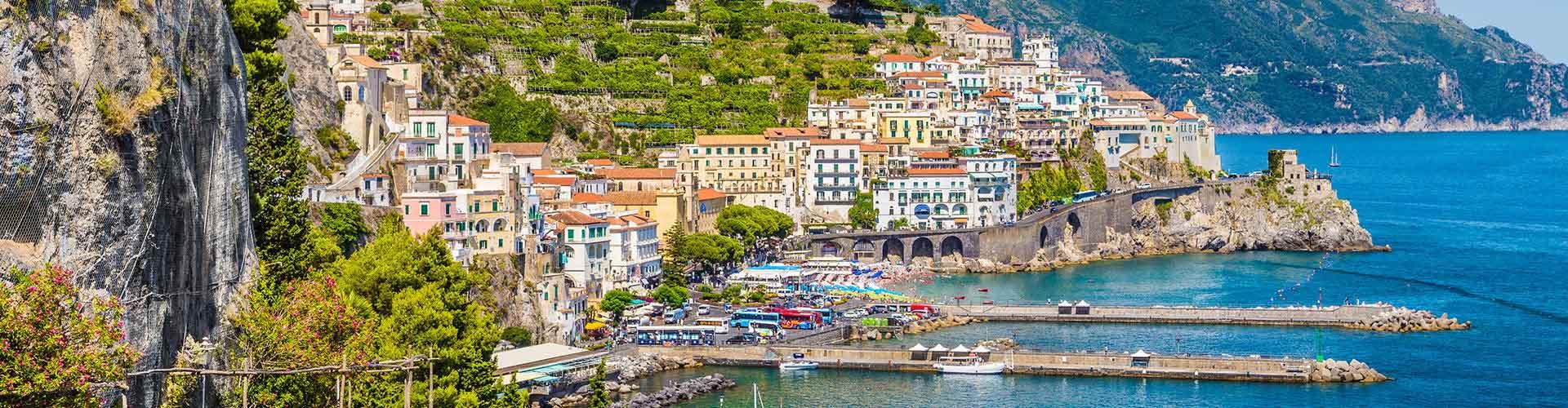 Salerno - Hostales en Salerno. Mapas de Salerno, Fotos y comentarios de cada Hostal en Salerno.