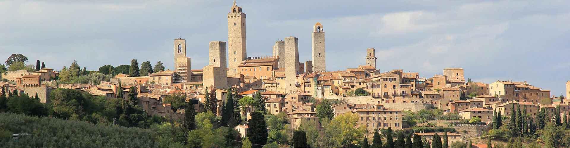 San Gimignano - Campamentos en San Gimignano. Mapas de San Gimignano, Fotos y comentarios de cada Campamento en San Gimignano.