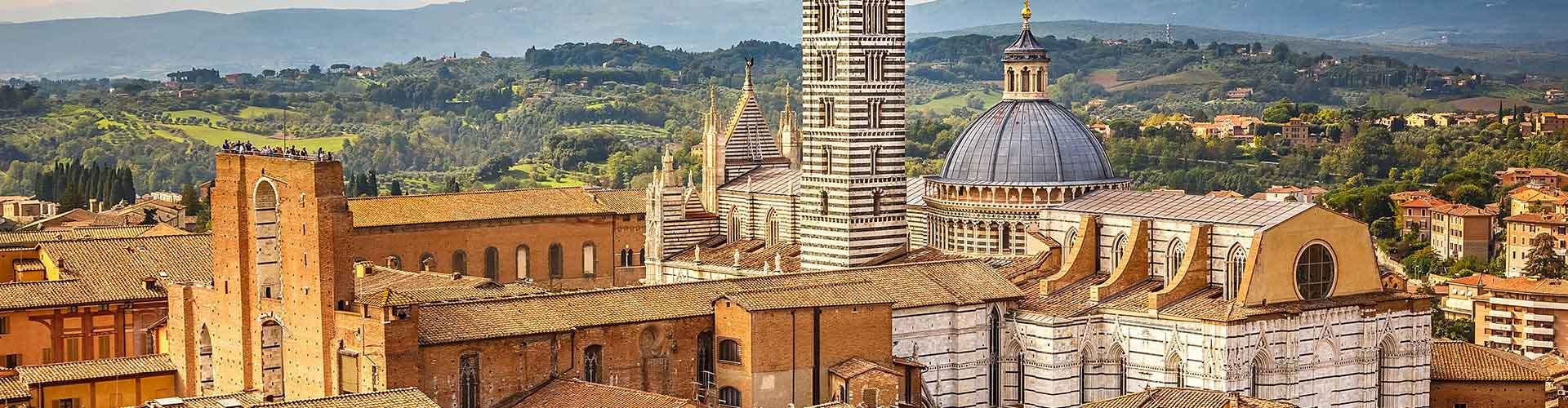 Siena - Hostales en Siena. Mapas de Siena, Fotos y comentarios de cada Hostal en Siena.