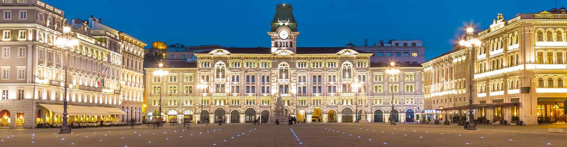 Trieste - Habitaciones en Trieste. Mapas de Trieste, Fotos y comentarios de cada Habitación en Trieste.