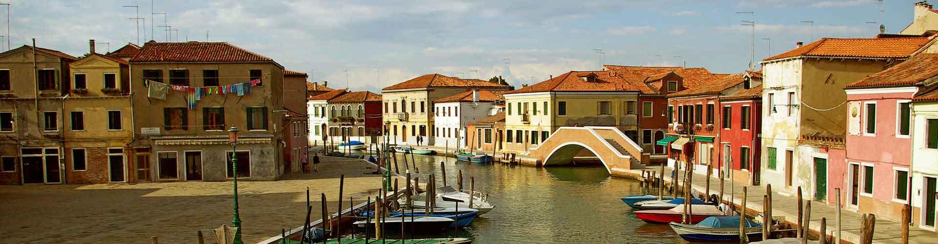 Venecia Mestre - Hostales cerca a Aeropuerto Marco Polo. Mapas de Venecia Mestre, Fotos y comentarios de cada Hostal en Venecia Mestre.