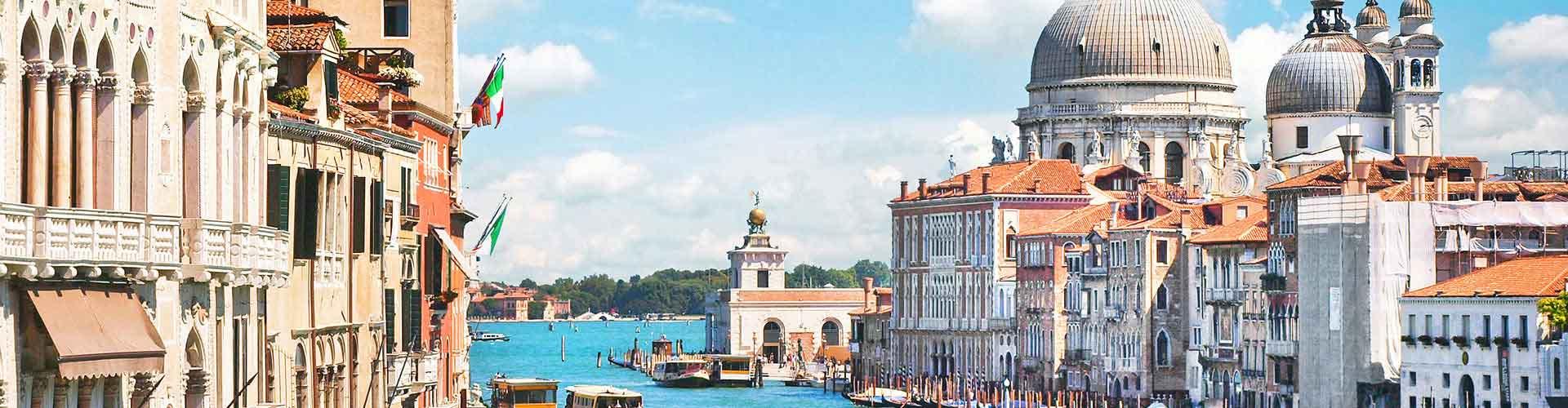 Venecia - Hostales en el distrito Distrito Lido, Malamocco, Alberoni. Mapas de Venecia, Fotos y comentarios de cada Hostal en Venecia.