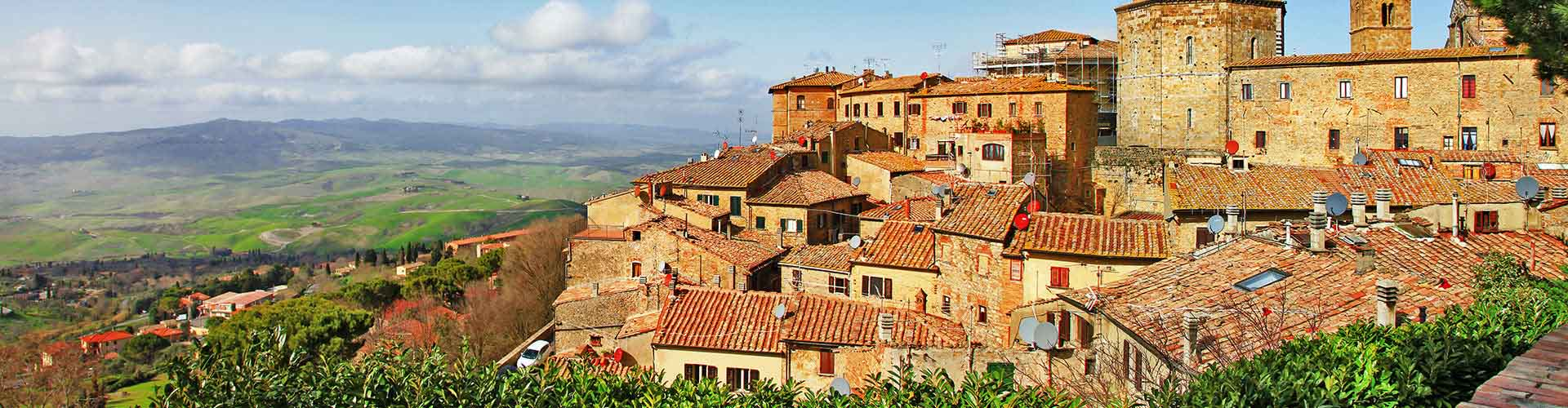 Volterra - Campamentos en Volterra. Mapas de Volterra, Fotos y comentarios de cada Campamento en Volterra.