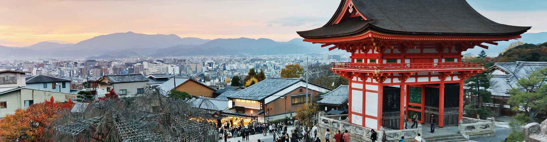 Kyoto - Hostales en Kyoto. Mapas de Kyoto, Fotos y comentarios de cada Hostal en Kyoto.