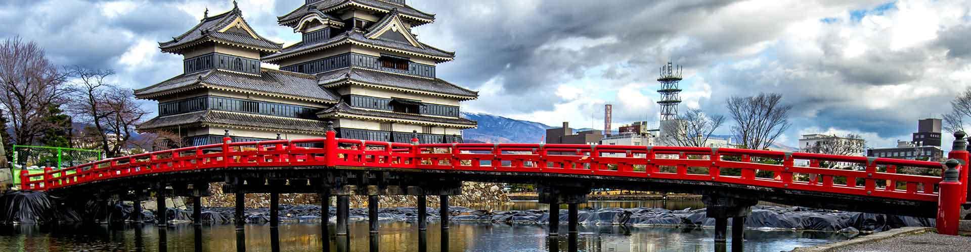 Osaka - Habitaciones en el distrito Amerikamura. Mapas de Osaka, Fotos y comentarios de cada Habitación en Osaka.
