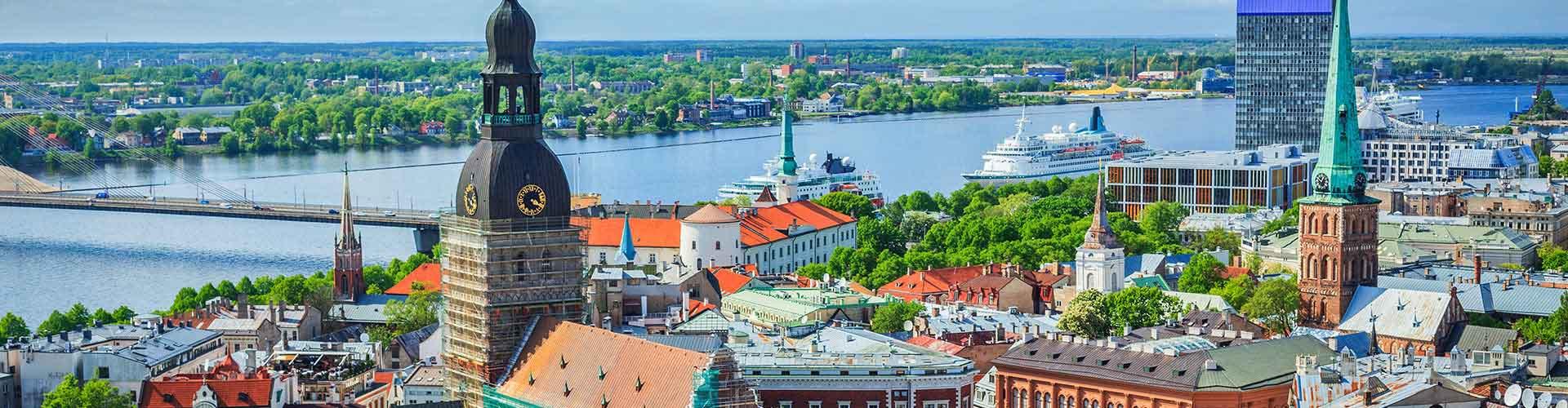 Riga - Hostales en Riga. Mapas de Riga, Fotos y comentarios de cada Hostal en Riga.