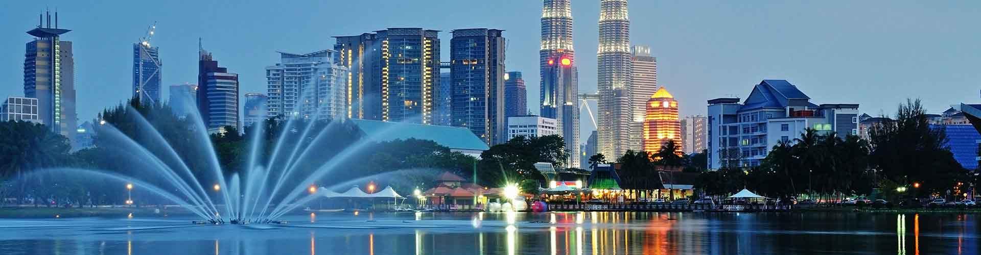 Kuala Lumpur - Hostales en el distrito Bandar Tasek Selatan. Mapas de Kuala Lumpur, Fotos y comentarios de cada Hostal en Kuala Lumpur.