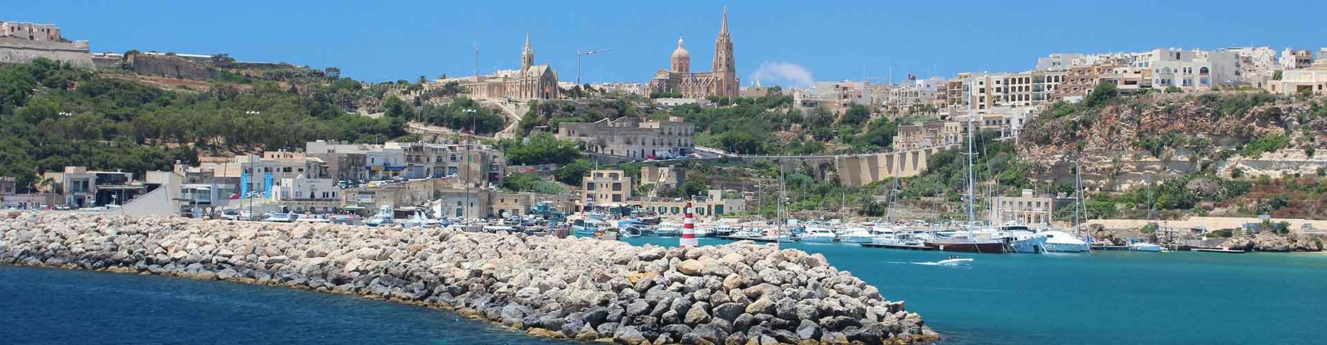 Gozo - Habitaciones en Gozo. Mapas de Gozo, Fotos y comentarios de cada Habitación en Gozo.