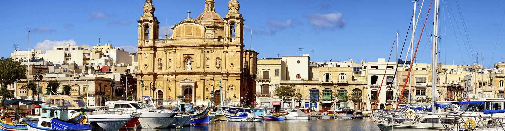 Valletta - Hostales en Valletta. Mapas de Valletta, Fotos y comentarios de cada Hostal en Valletta.