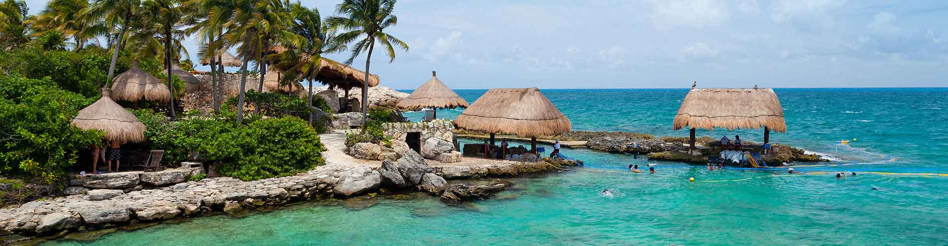 Cancún - Campamentos en Cancún. Mapas de Cancún, Fotos y comentarios de cada Campamento en Cancún.