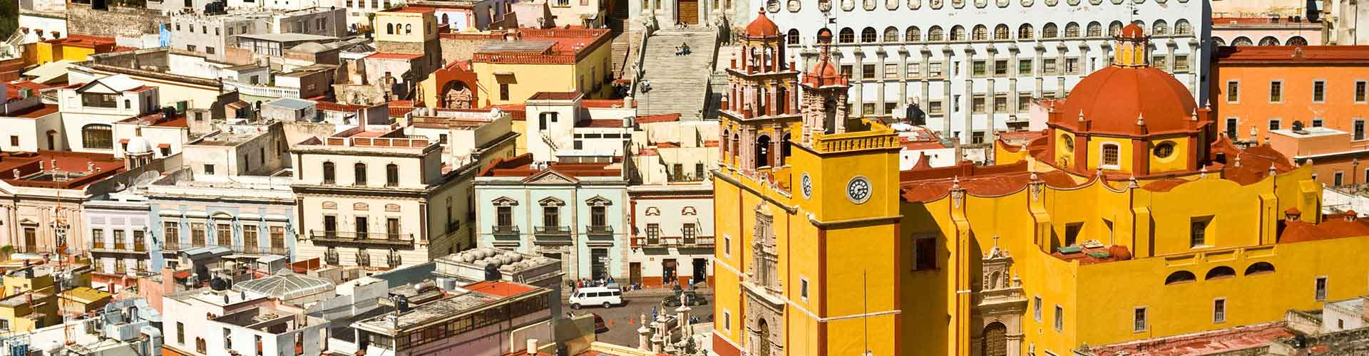 Guanajuato - Hostales en Guanajuato. Mapas de Guanajuato, Fotos y comentarios de cada Hostal en Guanajuato.
