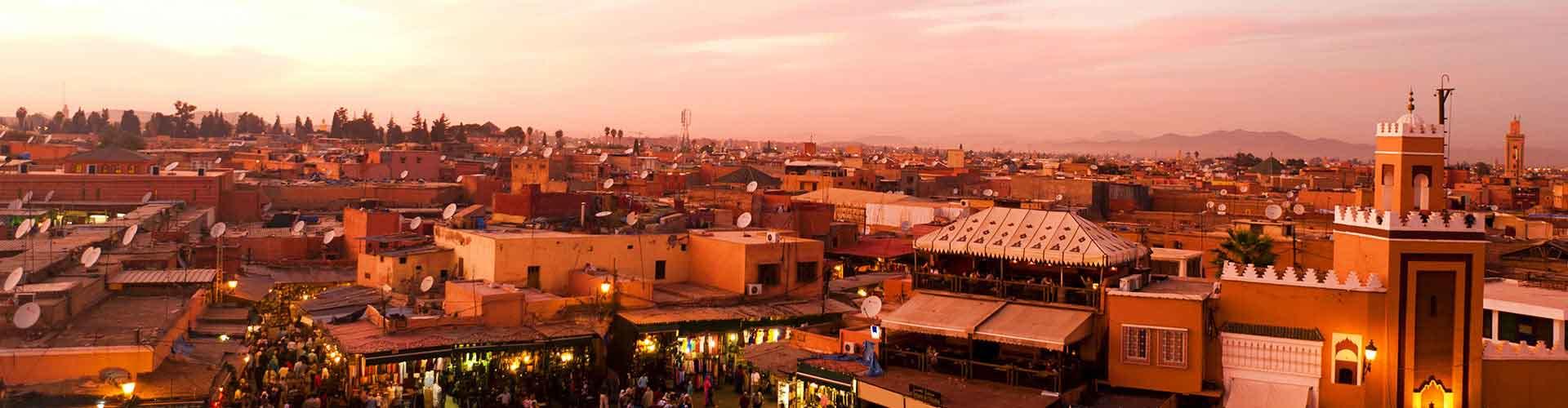 Marrakech - Campamentos en Marrakech. Mapas de Marrakech, Fotos y comentarios de cada Campamento en Marrakech.