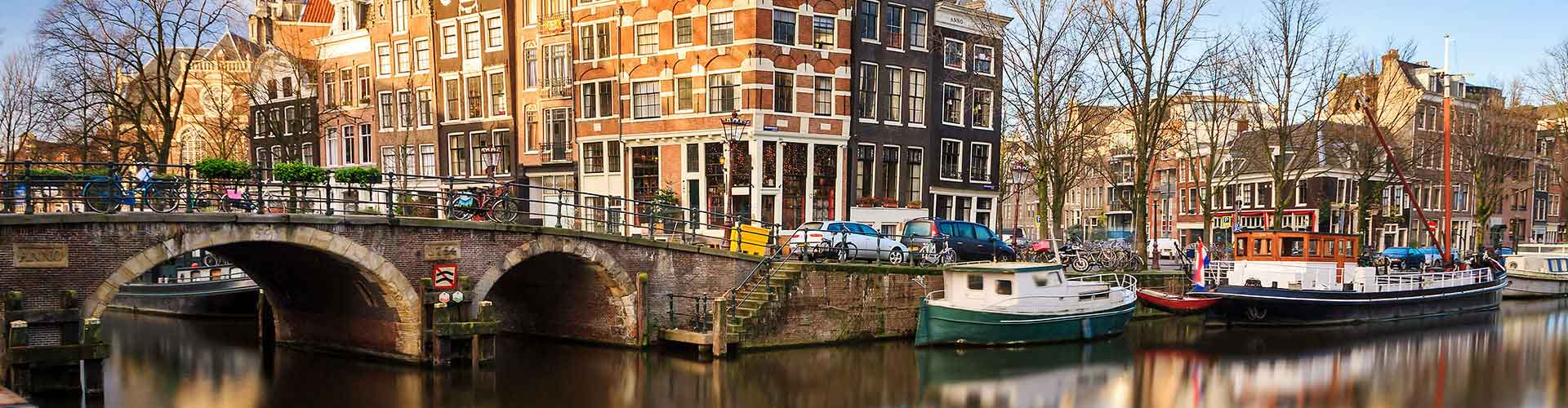 Amsterdam - Apartamentos en el distrito Zuider Amstel. Mapas de Amsterdam, Fotos y comentarios de cada Apartamento en Amsterdam.