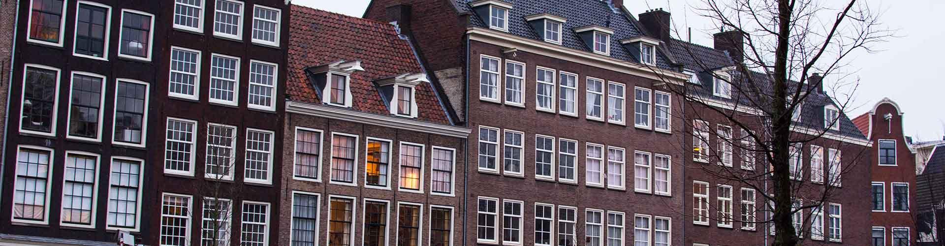 Amsterdam - Hostales cerca a Casa de Ana Frank. Mapas de Amsterdam, Fotos y comentarios de cada Hostal en Amsterdam.