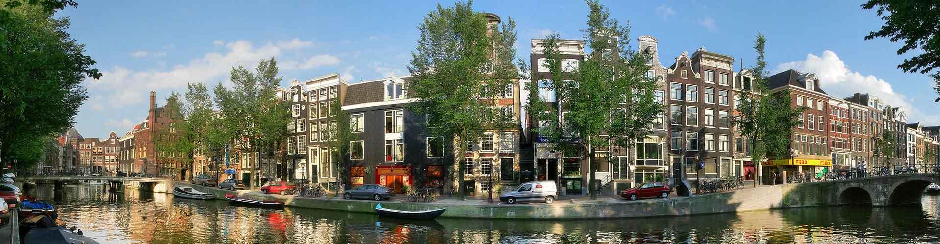 Amsterdam - Campamentos cerca a City Center. Mapas de Amsterdam, Fotos y comentarios de cada Campamento en Amsterdam.