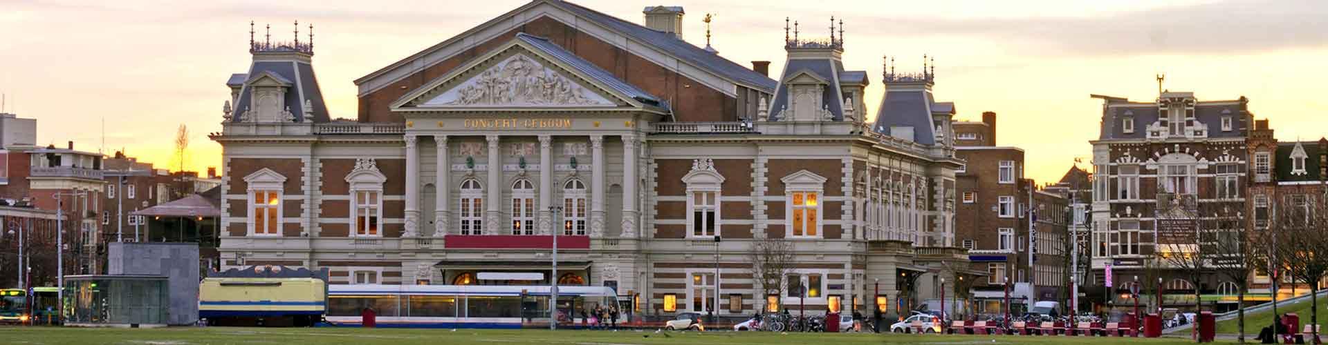 Amsterdam - Habitaciones cerca a Concertgebouw. Mapas de Amsterdam, Fotos y comentarios de cada Habitación en Amsterdam.