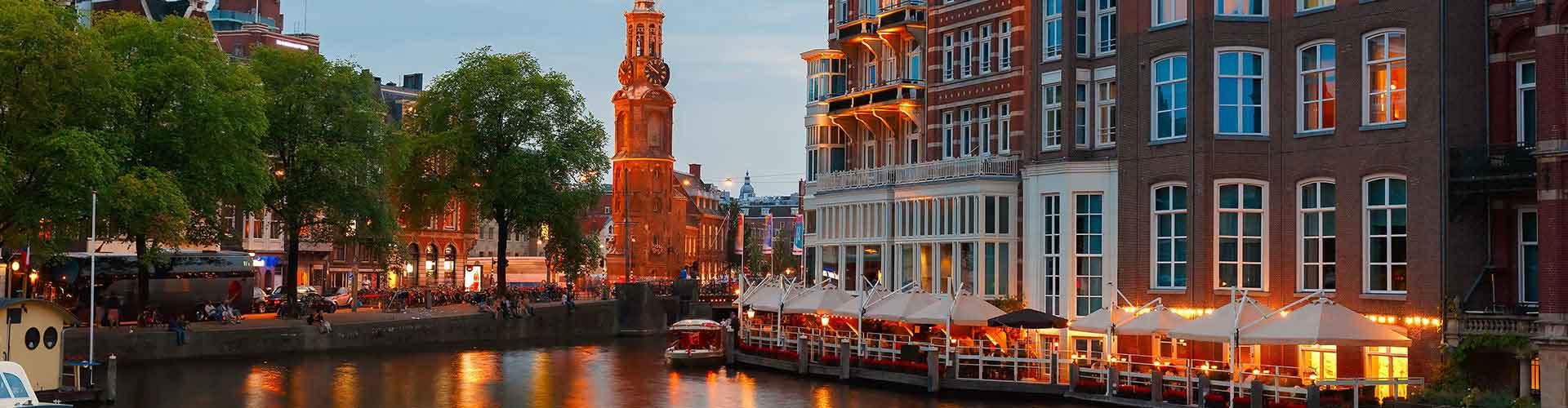 Amsterdam - Hostales cerca a Munttoren. Mapas de Amsterdam, Fotos y comentarios de cada Hostal en Amsterdam.