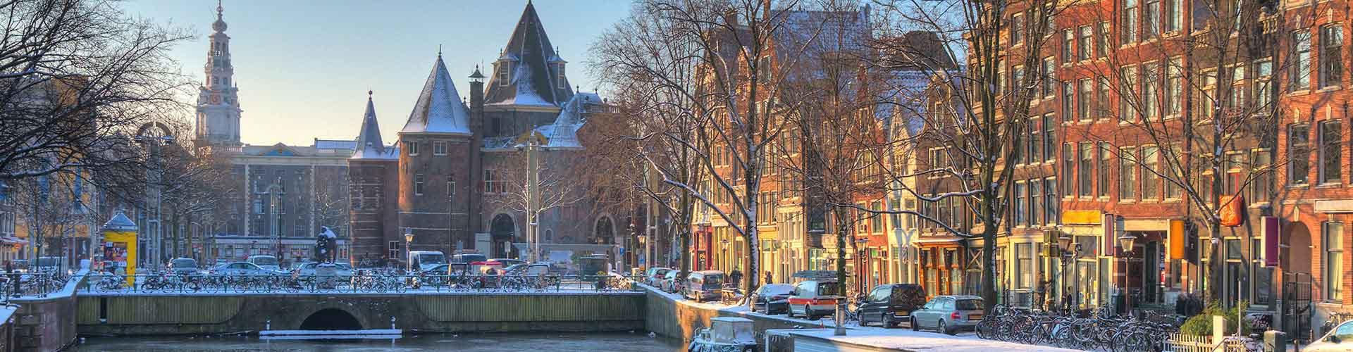 Amsterdam - Habitaciones cerca a Nieuwmarkt. Mapas de Amsterdam, Fotos y comentarios de cada Habitación en Amsterdam.