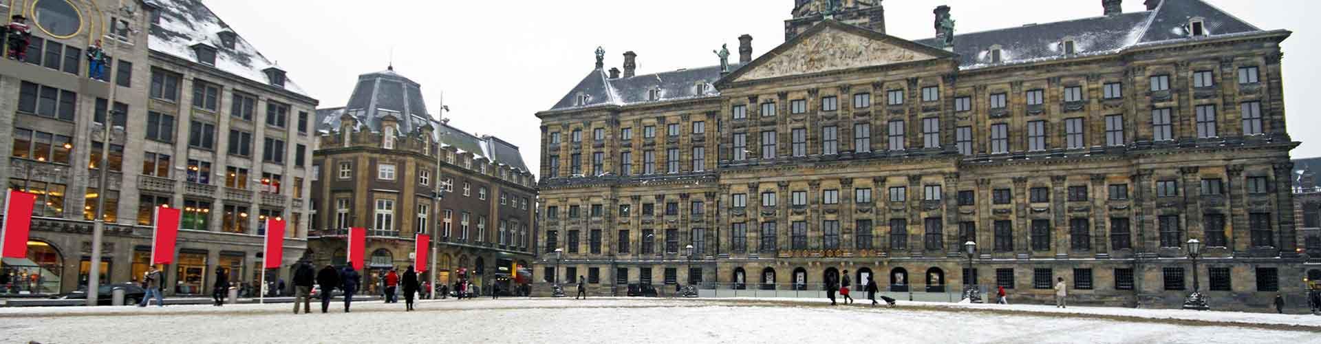 Amsterdam - Hostales cerca a Palacio Real. Mapas de Amsterdam, Fotos y comentarios de cada Hostal en Amsterdam.