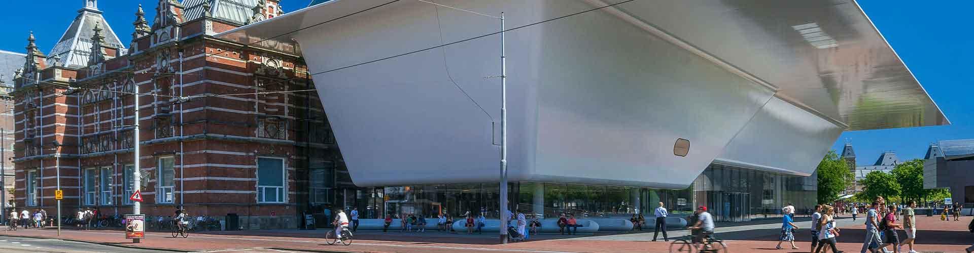 Amsterdam - Hostales cerca a Musea Stedelijk . Mapas de Amsterdam, Fotos y Comentarios para cada hostal en Amsterdam.