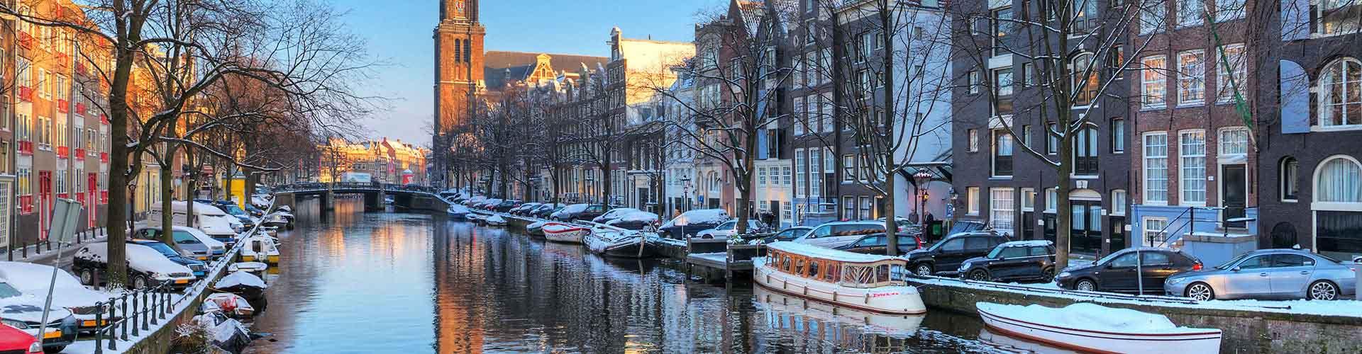Amsterdam - Hostales cerca a Westerkerk. Mapas de Amsterdam, Fotos y comentarios de cada Hostal en Amsterdam.