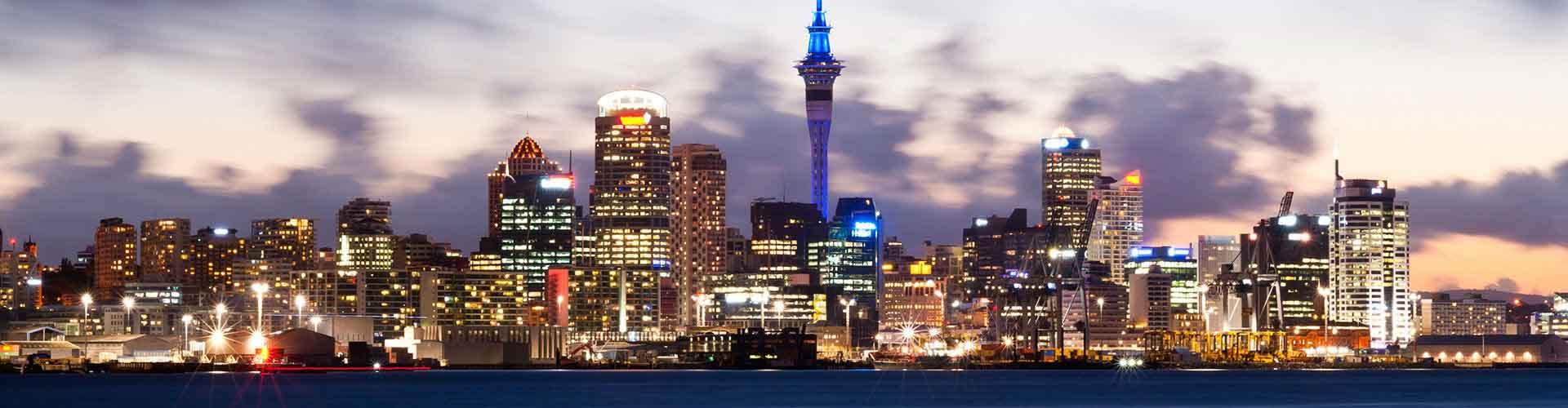 Auckland - Campamentos cerca a City Center. Mapas de Auckland, Fotos y comentarios de cada Campamento en Auckland.