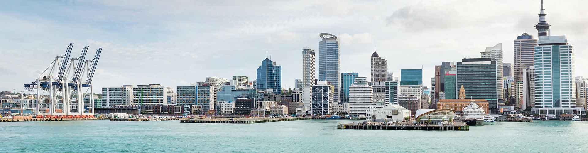 Auckland - Habitaciones en el distrito Auckland CBD. Mapas de Auckland, Fotos y comentarios de cada Habitación en Auckland.