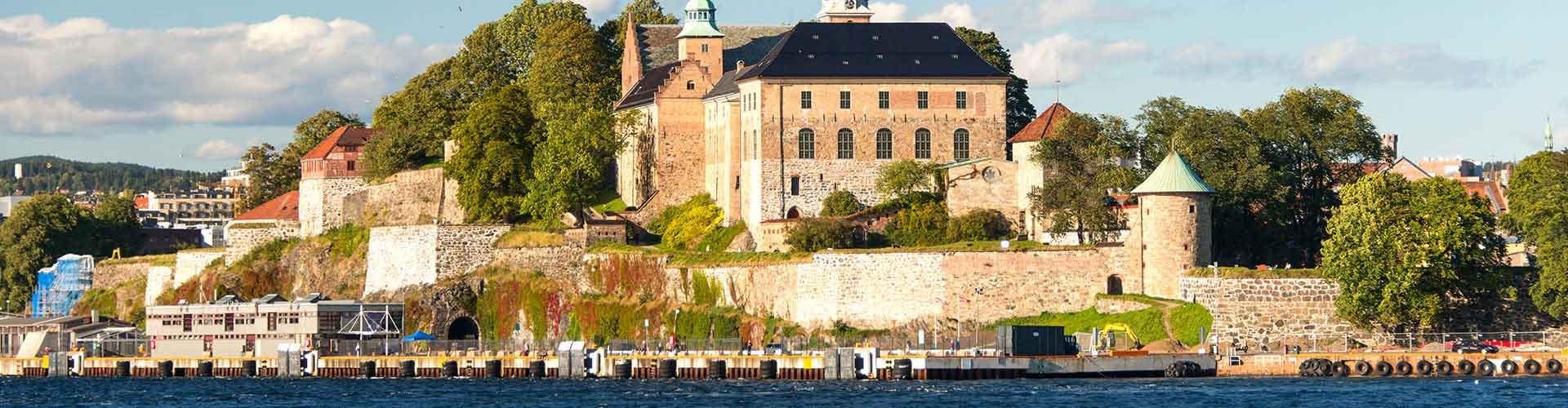 Oslo - Hostales en el distrito Nordre Aker. Mapas de Oslo, Fotos y comentarios de cada Hostal en Oslo.