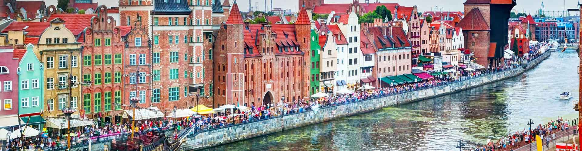 Gdansk - Hostales en Gdansk. Mapas de Gdansk, Fotos y comentarios de cada Hostal en Gdansk.