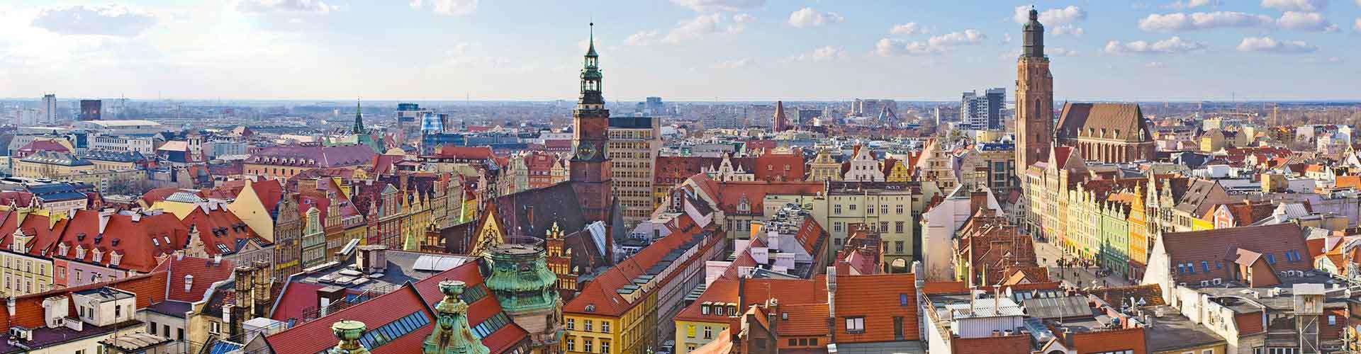 Wroclaw - Apartamentos en Wroclaw. Mapas de Wroclaw, Fotos y comentarios de cada Apartamento en Wroclaw.